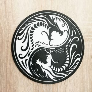 "Deco Art ""The Dragons"""