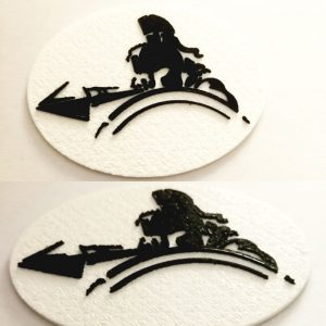 Magnet decorativ Spartan Hero
