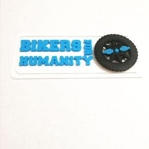Semn de carte Bikers For Humanity