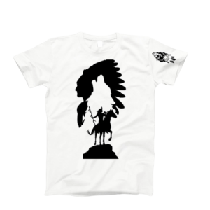 "Tricou cu mânecă scurtă ""The Great Chief Wolf Dream"""